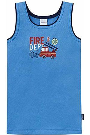 Schiesser Boy's Hemd 0/0 Vest, -Blau (Hellblau 805)