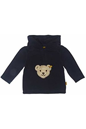 Steiff Unisex Baby Fleecepullover 1/1 Arm Hooded Long Sleeve Jumper