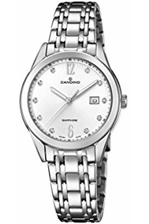 Candino Womens Analogue Classic Quartz Watch with Stainless Steel Strap C4615/2