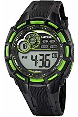 Calypso Men's Digital Watch with LCD Dial Digital Display and Plastic Strap K5625/3