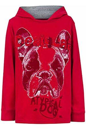 Desigual Boy's Plain unicolor T-Shirt - - Rouge (3092) - 12 Years