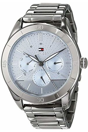 Tommy Hilfiger Unisex-Adult Multi dial Quartz Watch with Stainless Steel Strap 1781885