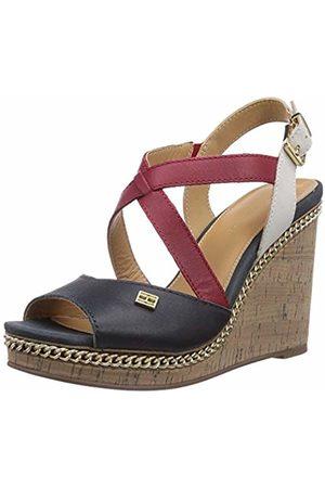 Tommy Hilfiger Women's EMERY 70A Fashion Sandals Blau (RWB 910) Size: 7