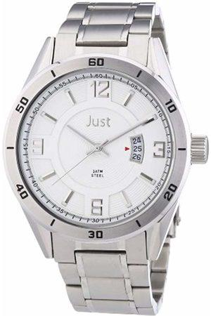 Just Watches Men's Quartz Watch 48-S9279S-SL with Metal Strap