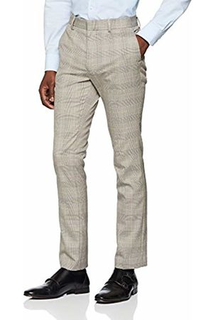 New Look Men's Skinny Suit Trousers, ( Pattern)