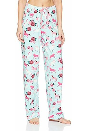 Hatley Little House by Women's Jersey Pyjama Bottoms, (Ponies/Peonies)