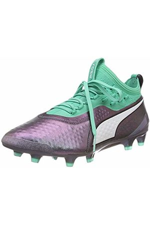 PUMA Men's ONE 1 IL LTH FG/AG Footbal Shoes, (Color Shift-Biscay )