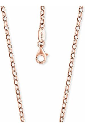 "Engelsrufer Anchor Chain Necklace Rose Plated 925-Sterling Silver Thickness 2.85 mm (0.11"") Length 50 cm (19.69"")"