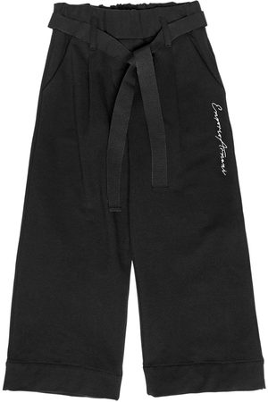 Armani EMBROIDERED LOGO COTTON CULOTTES