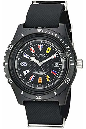 Nautica Men Watches - Men's Analogue Quartz Watch with Silicone Strap NAPSRF001