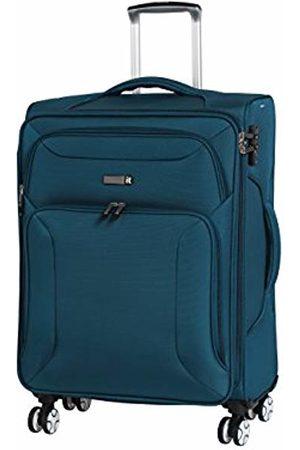 IT Luggage Fascia 8 Wheel Lightweight Semi Expander Medium With Tsa Lock Suitcase, 68 cm