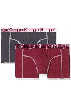 Dim Men's Eco Mode Swim Trunks, (Rouge Cerise/Gris Granit 6uk)