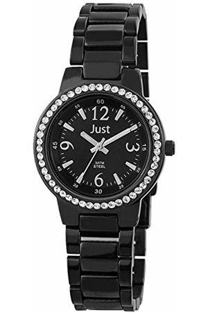 Just Watches Ladies Watch XS Analogue Quartz Stainless Steel 48–S3977A-Bk-Bk