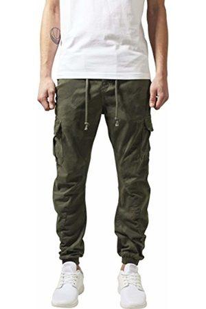 Urban classics Men's Camo Cargo Jogging Pants Trousers