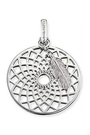 Engelsrufer Dreamcatcher Pendant for Women 925-Sterling with Feather 33 mm