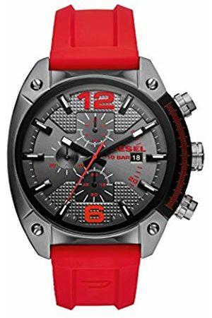 Diesel Men's Chronograph Quartz Watch with Silicone Strap DZ4481