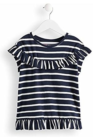 RED WAGON Girl's Breton Ruffle Top