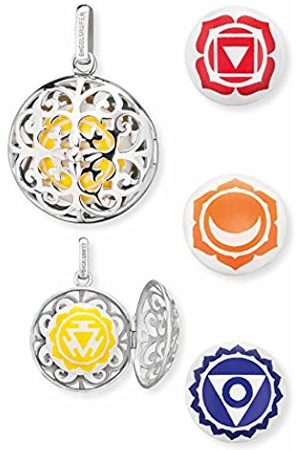 Engelsrufer Solarplexus Chakra Set Pendant for Women 925 Sterling Silver with 3 additional Chakra Chimes