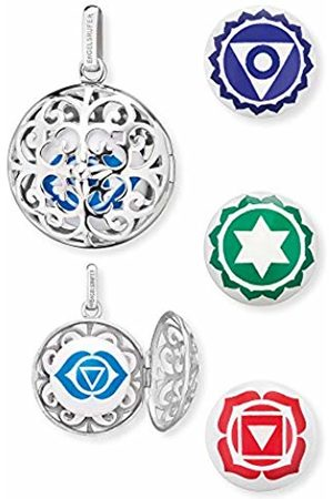 Engelsrufer Brow Chakra Set Pendant for Women 925 Sterling Silver with 3 additional Chakra Chimes