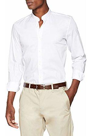 Antony Morato Men's Camicia Manica Lunga Collo Coreano Casual Shirt