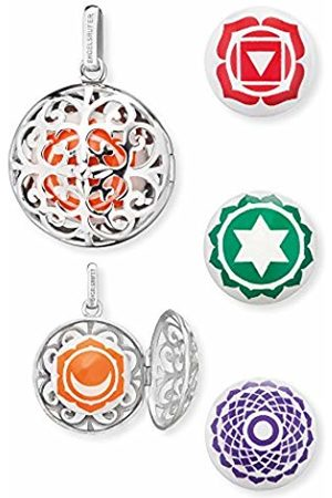 Engelsrufer Women's 925 Sterling Silver Pendant with Four Changeable Sound Lenses Sacral, Root
