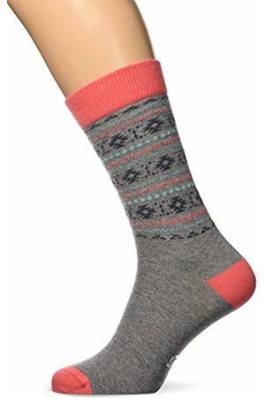 Besocks Men's 00060 Socks, Multi-Coloured ( /Coral)