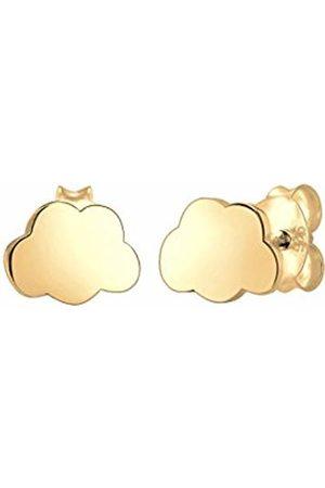 Elli Girls' Silver Plated Stud Earrings