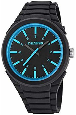 Calypso Mens Analogue Classic Quartz Watch with Plastic Strap K5725/3