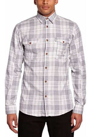 Jack & Jones Jack and Jones Men's Task Regular Fit Button Down Long Sleeve Casual Shirt