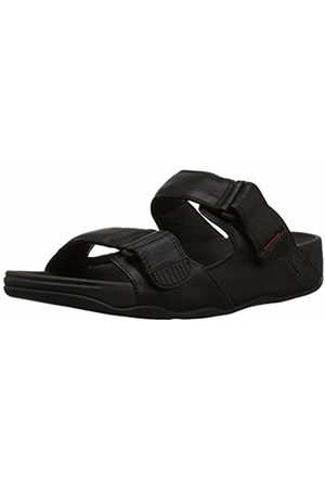 FitFlop Men's Gogh Moc Slide in Leather Open Toe Sandals