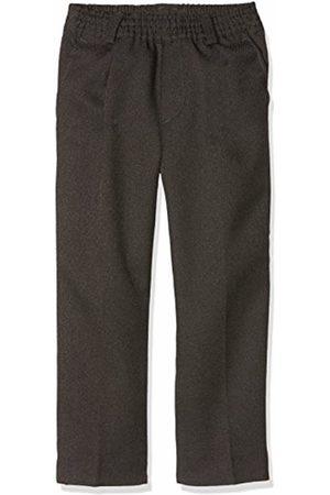 Nozama Boy's Pantalón Largo Infantil Con Goma Sin Botón School Trousers