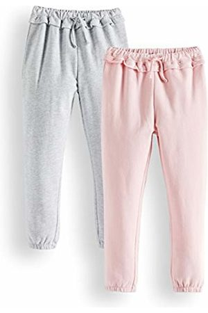 RED WAGON Girls Trousers - Girl's Joggers, Pack of 2