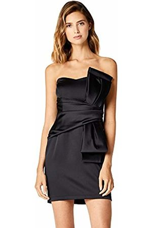 TRUTH & FABLE Women's Dress Satin Bow Detail Strapless