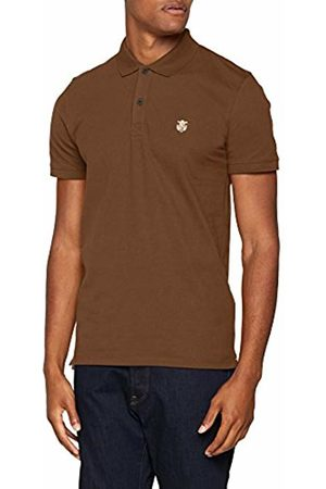 Selected Homme Men's Slharo Ss Embroidery W Polo Shirt
