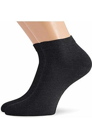 Hudson Men's Pack of 2 Ankle Socks - Grey - 7