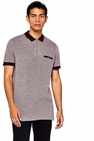FIND Men's Contrast Collar Polo Shirt