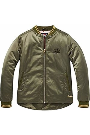 Scotch&Soda R´Belle Girl's Bomber Uneven Bottom in Satin Quality Jacket
