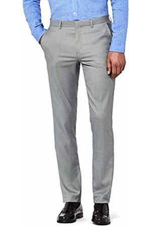 Hem & Seam Men's Slim Fit Formal Trousers