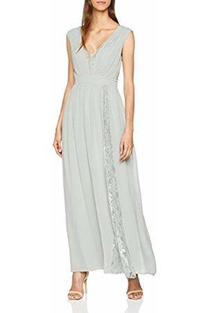 Little Mistress Women's Lace Maxi Dress, (Waterlily)