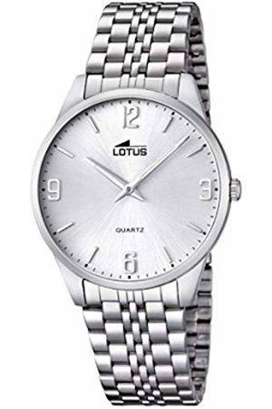 Lotus Men's Quartz Watch with Dial Analogue Display and Stainless Steel Bracelet 15883/2