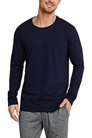 Schiesser Men's Mix & Relax Langarmshirt Rundhals Pyjama Top