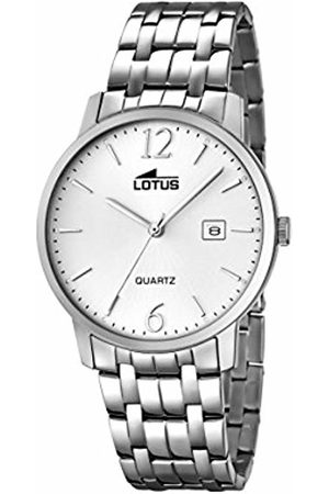 Lotus Men's Quartz Watch with Dial Analogue Display and Stainless Steel Bracelet 18175/2