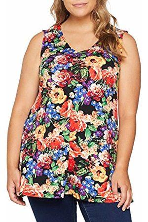 Simply Be Women's Sleeveless Fit Tunic T-Shirt, ( Print)