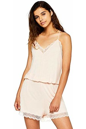 IRIS & LILLY Women's Lace Romper Onesie