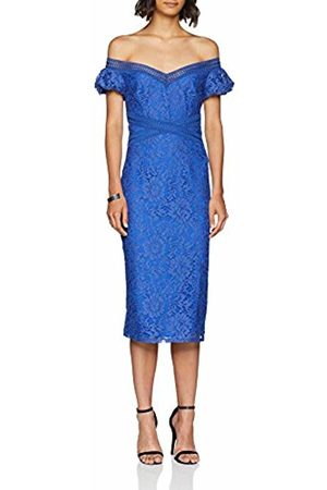 Little Mistress Women Bodycon Dresses - Women's Lace Bodycon Party Dress, (Azure )