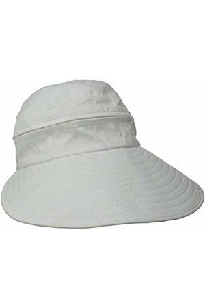 Physician Endorsed Women's Naples Cotton Packable Cap & Visor Sun Hat, Rated UPF 50+ for Max Sun Protection