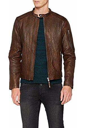 Jack & Jones Premium Men's Jprrichard Clean Leather STS Jacket