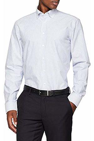 Seidensticker Men's Modern Langarm Mit Button Soft Gestreift Smart Weicher Kragen Business Shirt