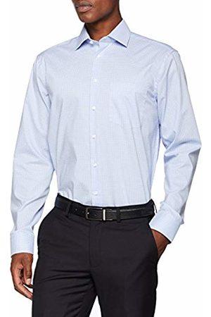 Seidensticker Men's Modern Langarm Mit Kent-Kragen Bügelfrei Kariert Business Shirt
