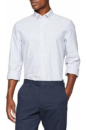 Seidensticker Men's Slim Langarm Mit Button Soft Gestreift Smart Weicher Kragen Business Shirt